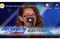 Mandy Harvey Inspires Us to Try