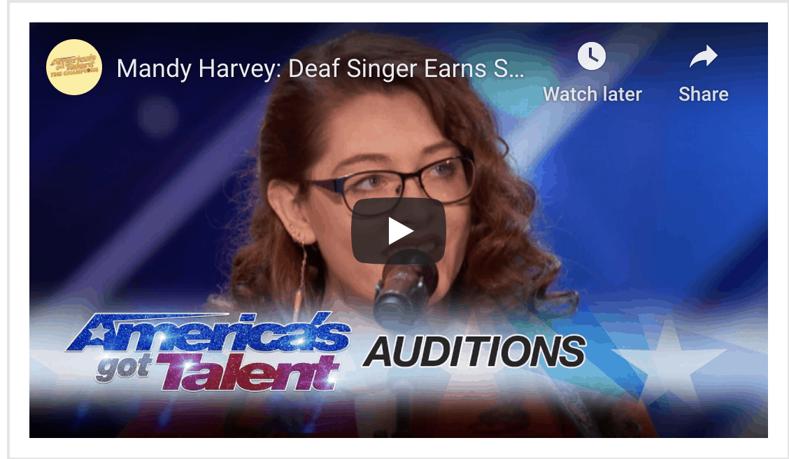 Mandy Harvey